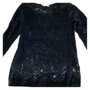 Sparkly top